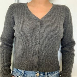 Brandy Melville Charcoal Shannon Sweater